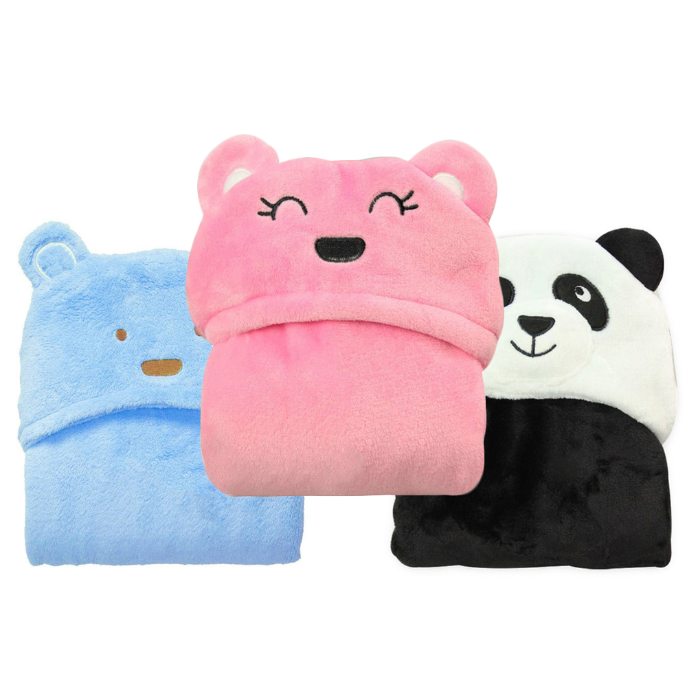 Lovely Animal Baby Bath Towel Children'S Hooded Towels Soft And Comfortable Newborns  Baby Bathrobe Kids Hooded Beach Cape Towel