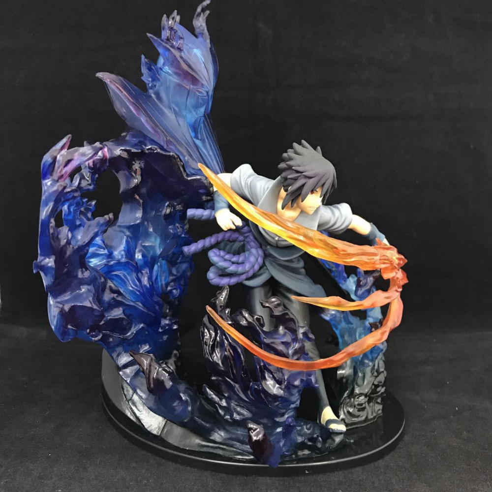 Anime Naruto PVC Action Figure Zero Uchiha Sasuke Blue Fire Collection Model Toy 21cmAnime Naruto PVC Action Figure Zero Uchiha Sasuke Blue Fire Collection Model Toy 21cm