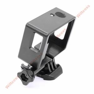 Image 2 - WILTEEXS camera Accessories Border Frame Mount Protective Housing Case Cover For SJCAM SJ4000 Sport Action cam