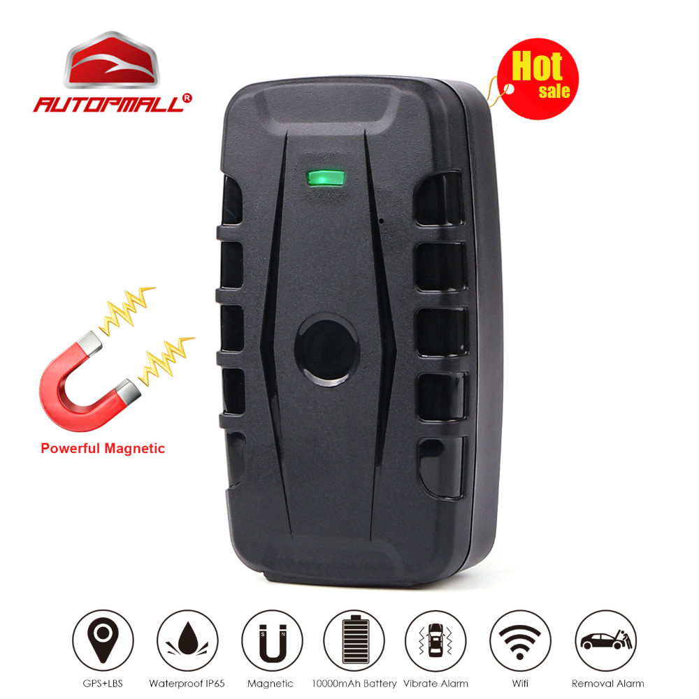 Car GPS Tracker LK209B Vehicle Tracking Device GPS Locator GSM GPRS Tracker 120 Days Standby Time Powerful Magnet Waterproof car gps tracker vehicle tracking device gsm locator 5000mah battery standby 60 days waterproof magnet free web app monitor