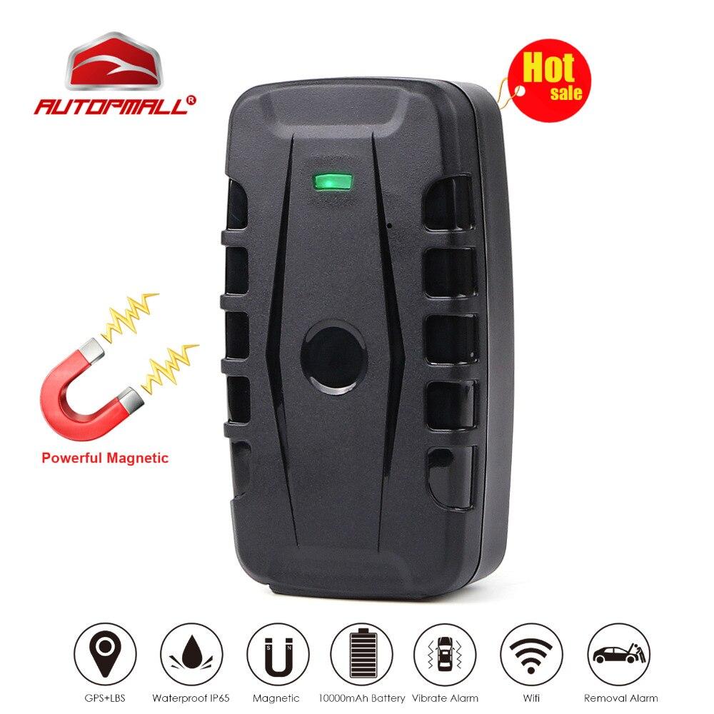 Voiture GPS Tracker LK209B Véhicule Dispositif De Repérage GPS Locator GSM GPRS Tracker 120 Jours En Veille Puissant Aimant Imperméable À L'eau