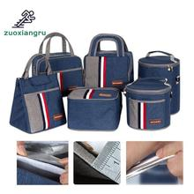 Zuoxiangru Lunch Bag Box Thermo Food Insulated Picnic Kids Thermal For Women Or Men Cooler Thermos Bags