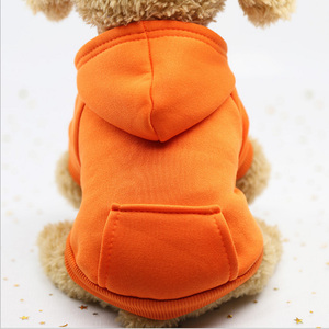 Image 4 - Dog Hoodies Autumn and winter warm sweater For Dogs Coat Jackets Cotton  Puppy Pet Overalls For Dogs clothes Costume Cat clothes
