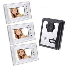 Yobang Security FreeshipVideo Door Phone Doorbell video Intercom video IR Camera.interphone visiophone