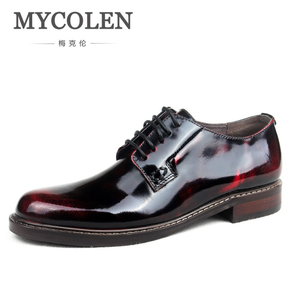 Mycolen 2018 Women Dress Shoes Handmade Leather Luxury Breathable Fashion Wedding Shoes Women Business Shoes Sepatu Kulit PriaMycolen 2018 Women Dress Shoes Handmade Leather Luxury Breathable Fashion Wedding Shoes Women Business Shoes Sepatu Kulit Pria