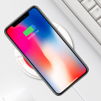 Qi Wireless Charger USB Charge Pad For IPhone X 8 Plus Samsung Galaxy S8 S9 Plus