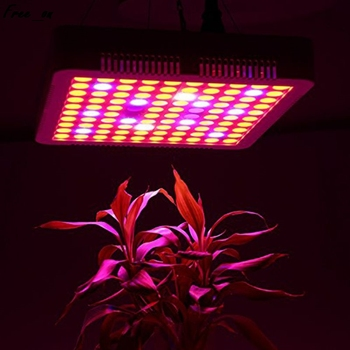Plastic For Greenhouse | 300W LED Plant Grow Light Full Spectrum IR UV Indoor Hydroponic Lamp Greenhouse Illumination Kit