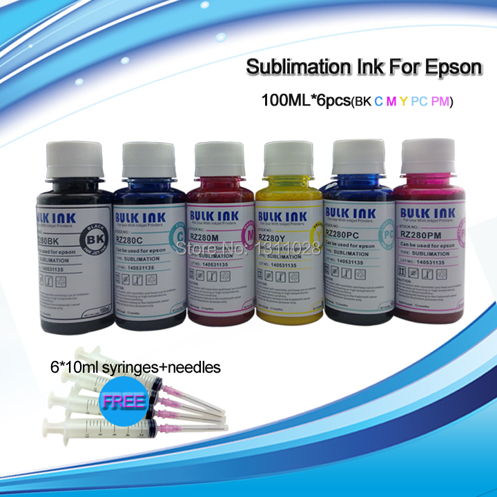 INK WAY Free Shipping Special Designed Sublimaiton ink for Epson print head DX4/5 /7