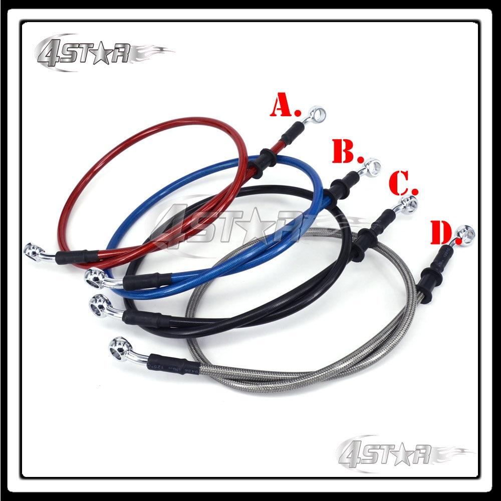 1000 1100 1200 1300 1400 1500 1600 1700 1800 1900 2000 mm Red Blue Black Titanium Motorcycle Brake Clutch Oil Hose Line Pipe 1000 1800