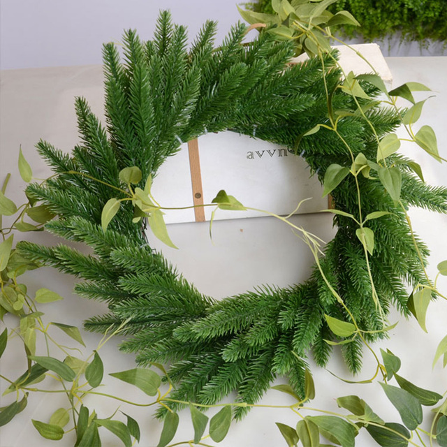 DIY Artificial Plants Pine Branches Christmas Tree Accessories  2