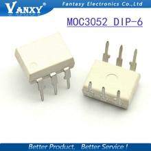 10 PCS MOC3052 DIP6 DIP IC novo e original frete grátis