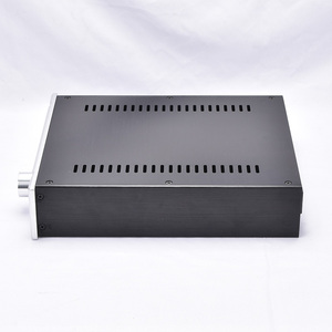 Image 3 - KYYSLB 260*70*311MM DIY Box 2607B All Aluminum Amplifier Chassis Case Preamplifier Chassis Amp Enclosure Housing with Louvers