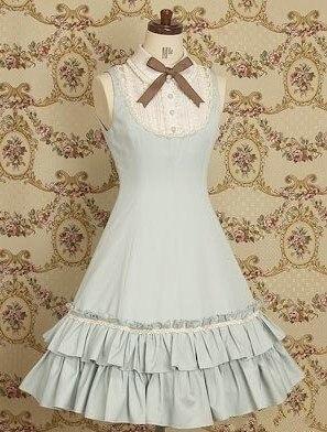 (LLT023) Lolita Dresses Sleeveless Sweet Lolita Short Dress Ball Gown Fancy Prom Dress Halloween Party Masquerade Costume