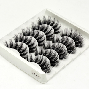 Image 5 - SEXYSHEEP 5Pairs 3D Faux Mink eyelashes False Eyelashes Long Lashes Wispy Makeup Beauty Extension Tools Wimpers 13 Styles