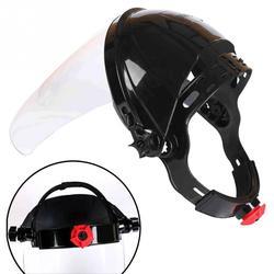 Przezroczyste soczewki anty-uv Anti-shock maska do spawania Auto ciemnienie przyłbica spawalnicza osłona twarzy maska lutownicza twarzy oczu ochrona