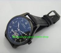 43ミリメートルパーニスアジアst2505動きフライホイール自動機械式メンズ腕時計pvd時計のケース機械式腕時計01a