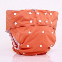 Berymond Big Boys Girls Adjustable Waist Size Cloth Diapers Wash Cloth Diapers Nappies Pants Fit For Waist 60-105CM and 50-90KG
