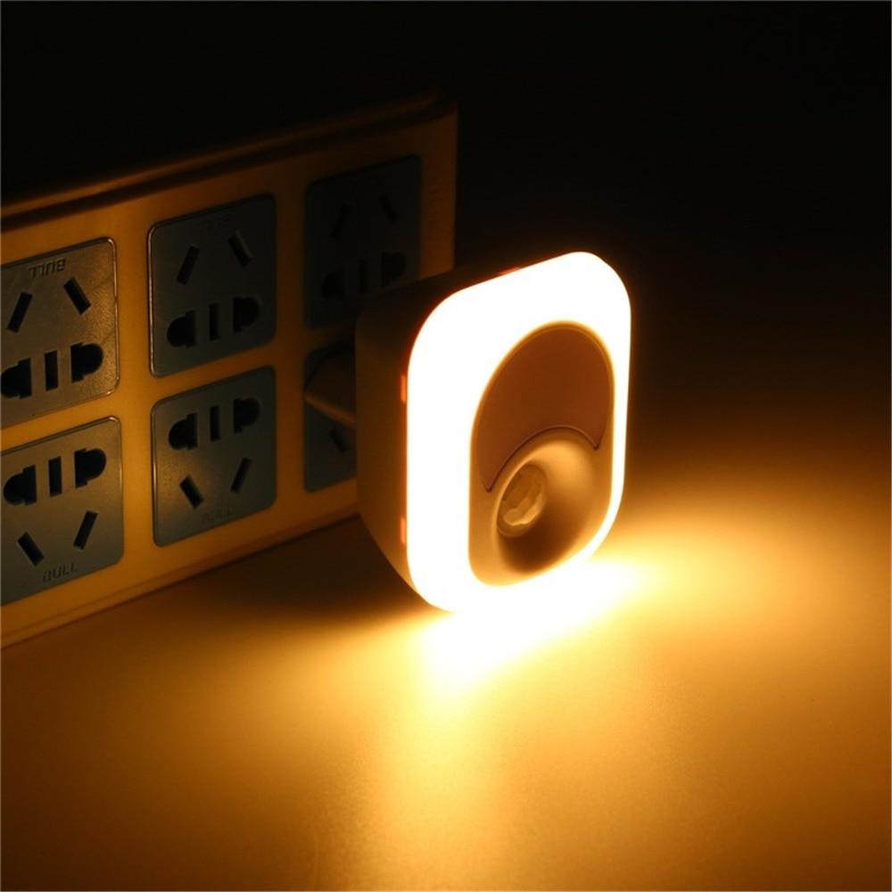 Super Bright Infrared Motion/Light Sensor Wall Lamp Gift 26 Bulbs Emergency Night Light Corridor Washroom EU US Plug Indoor LED цена