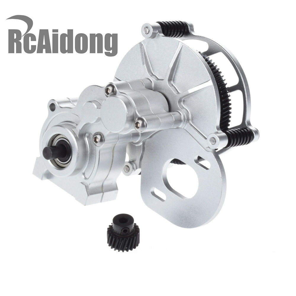 Rcaidong 1PCS  Transmission Case Center Gearbox for 1/10 RC Crawlers Cars Axial SCX-10 AX10 rot truck transmission parts gearbox speed sensor wg2209280010 for sinotruck howo
