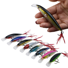 цена Ruanture Bait Minnow Fishing Lure Wobblers Crankbait 90mm/13g Artificial Hard Lure Sinking Fishing Minnow Lure Bait онлайн в 2017 году