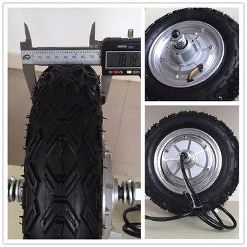 Motor de cubo 10'' 48V 350W 800W bicicleta electrica rueda de transmisión...