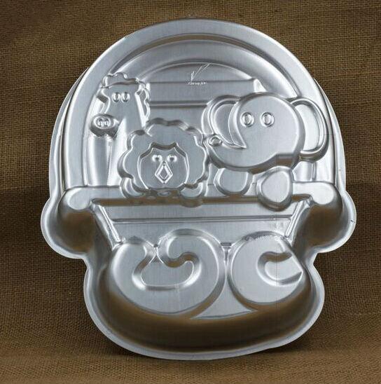festival cake design Elephant lion Giraffe cake pan mould birthday