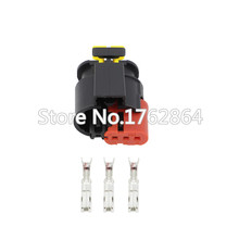 5 PCS 3 Pin Waterproof Automotive Wire Connector Sealed Sensor Fuel/Diesel Injector Ignition coil AMP Tyco