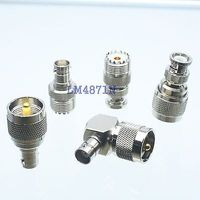 Kit Adapter 5pcs Set PL259 SO239 To BNC Male Female RF Connector Test Converter