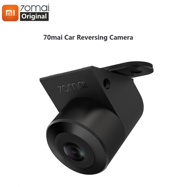 Xiaomi 70mai Reverse Camera 70 mai Car Rear View Wide Rearview Cam Night Vision IPX7 Wide Angle Auto Reversing Double Recording