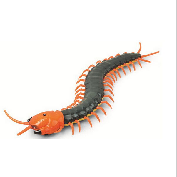 F10468 Creepy-Crawly Remote Control Centipede / Giant RC Scolopendra Novelty Toy Gift(China)