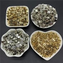 Contas soltas de acrílico, 3mm 4mm 5mm 7mm 50-200 peças fazer joias