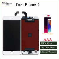 Mobymax Promotion All Work LCD Touch Screen For IPhone 4 4s 5 5s 6 Display Digitizer
