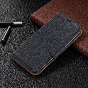 Image 2 - Portefeuille coque de téléphone pour Nokia 2.1 2.2 3.1 3.2 4.2 5.1 1 Plus Flip bracelet en cuir fentes pour cartes fermeture magnétique Stand Cover