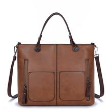 2016 Retro Vintage Bag High Quality Leather Women's Handbag Famous Brands Designer Female Messenger Crossbody Bags For Women Sac