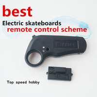 100% original New WINNING 2.4Ghz mini Built in lithium battery remote controller with receiver for electric skateboard longboard