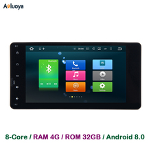 Aoluoya 4GB RAM Android 8.0 Octa-Core Car DVD GPS Player For Mitsubishi Pajero V97 V93 Outlander 2010-2015 Sport L200 2015 2016