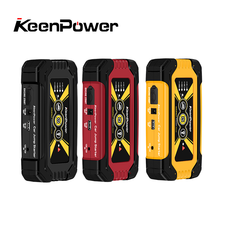 Keenpower High Quality Mini Car Jump Starter Portable 600A Car Battery Charger Car Battery Booster Buster keenpower high quality mini car jump starter 12v car stlying starting device 600a charger car battery booster buster