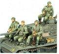 1/35 ocupante del vehículo 3 personas WWII WW2 Alemán soldado Resina Modelo Kit figura Envío Libre