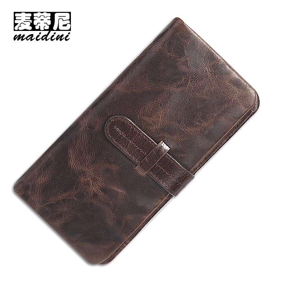 New Vintage Men Wallet Brand 100% Top Quality Genuine leather Male Clutch Wallets Long Coin Purse Credit ID Card Holder Purses 2014 fashion genuine leather men wallets business style long wallet high quality credit coin purse solid soft letter male pouch