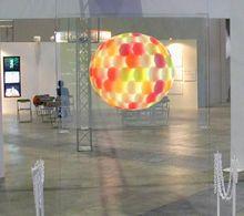 Película de proyección trasera holográfica de 1.524m x 1 m, lámina de proyección trasera transparente autoadhesiva para pantalla de ventana