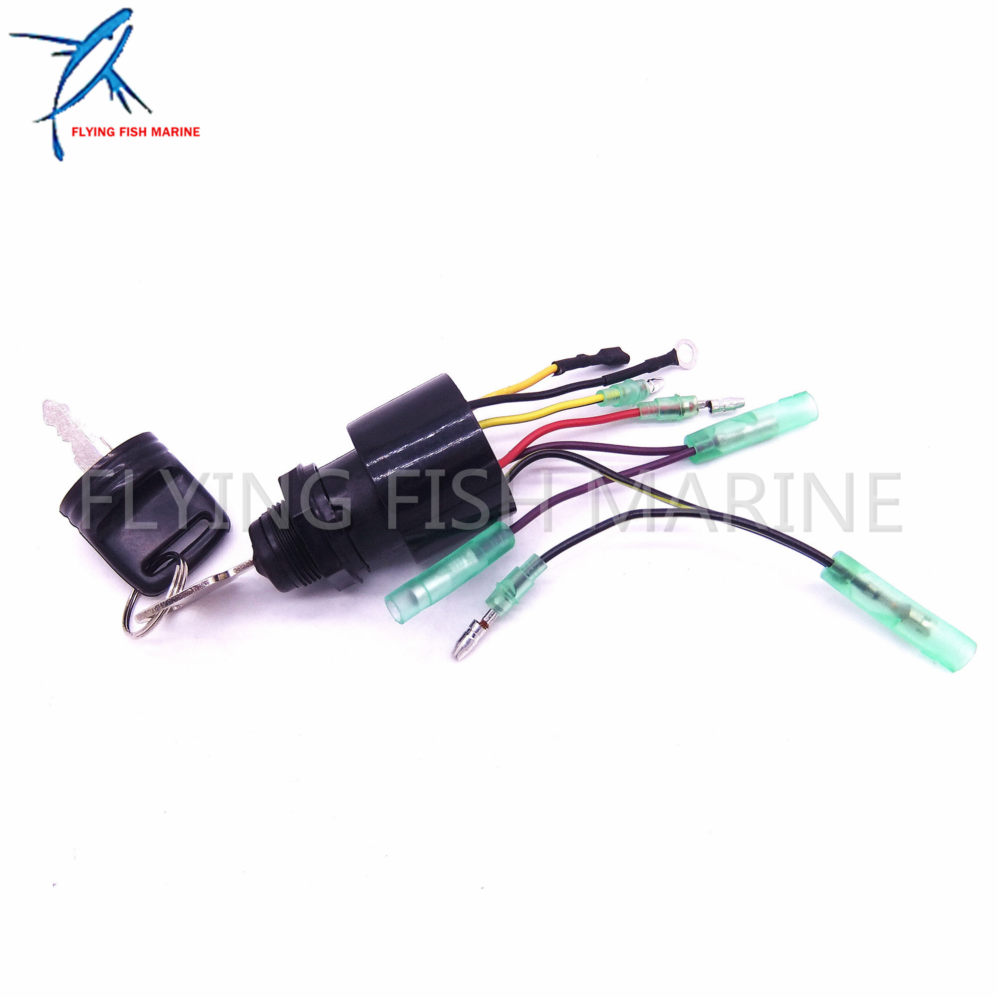 87-17009A5 Boat Motor Ignition Key Switch for Mercury Outboard Motors 3 Position Off-Run-Start