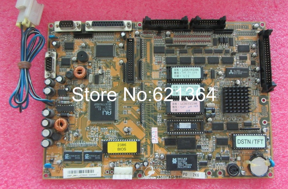 Techmation 2386M3-3  Motherboard  For Industrial Use New And Original  100% Tested Ok
