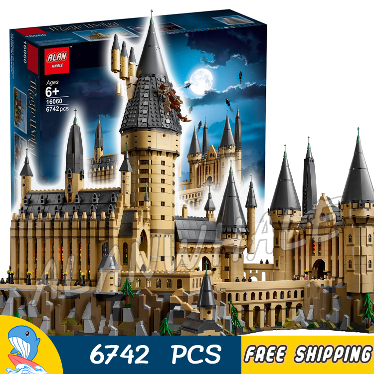 6742pcs Magic Hogwarts Castle 16060 Model Building Blocks Toy Brick Harri Potter Compatible With lago6742pcs Magic Hogwarts Castle 16060 Model Building Blocks Toy Brick Harri Potter Compatible With lago
