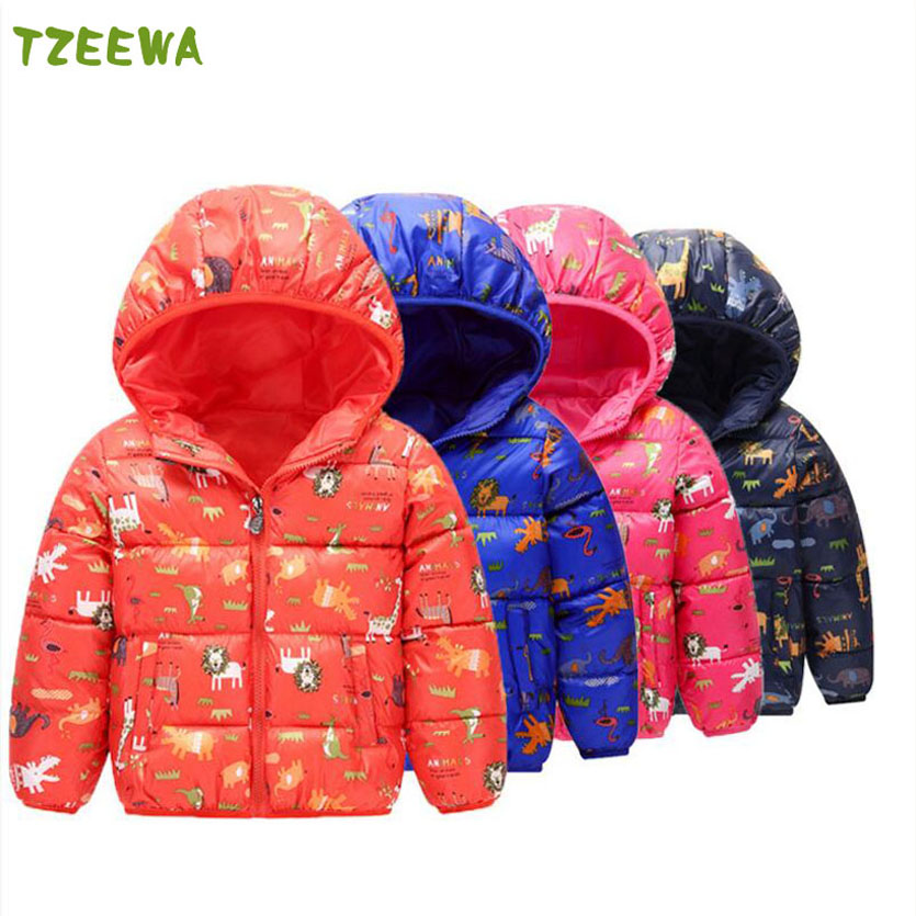 Cartoon Winter Jacket For Girls Clothes Cotton Padded Hooded Girl Winter Coat Manteau Fille Hiver Girl Parkas Enfant Coats 2017 baby girl thickness warmer down jacket for girl fashion kids winter jacket manteau fille hiver hooded girls winter coat