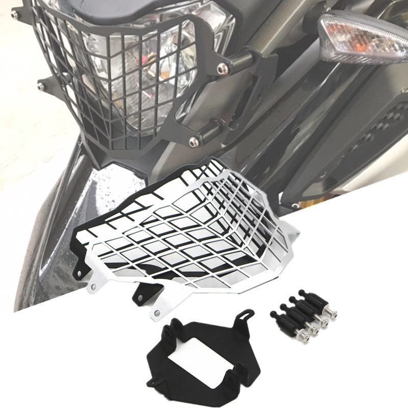 For BMW G310GS G310 GS G 310 GS 2017-2018 Motorcycle modification Headlight Grille Guard Cover ProtectorFor BMW G310GS G310 GS G 310 GS 2017-2018 Motorcycle modification Headlight Grille Guard Cover Protector