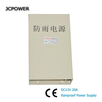 AC 220V DC 12V 20A 240W водонепроницаемый драйвер питания DC12V светодиодный блок питания для наружного применения