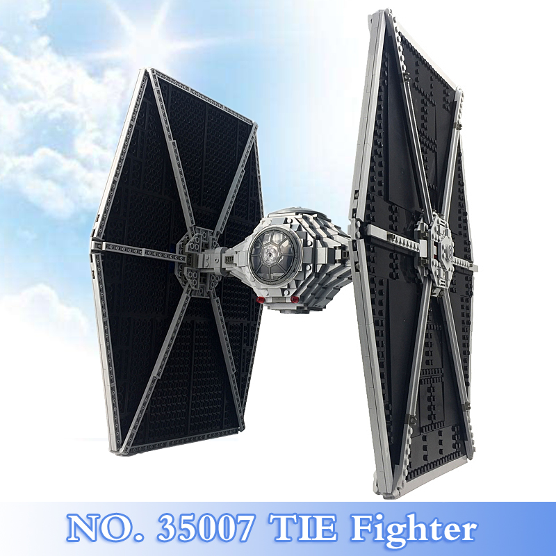 2018 New Star War Series 1685Pcs TIE Fighter Figures Building Blocks Bricks Set Children Toys Gift Model Kits Compatible 75095 2015 high quality spaceship building blocks compatible with lego star war ship fighter scale model bricks toys christmas gift