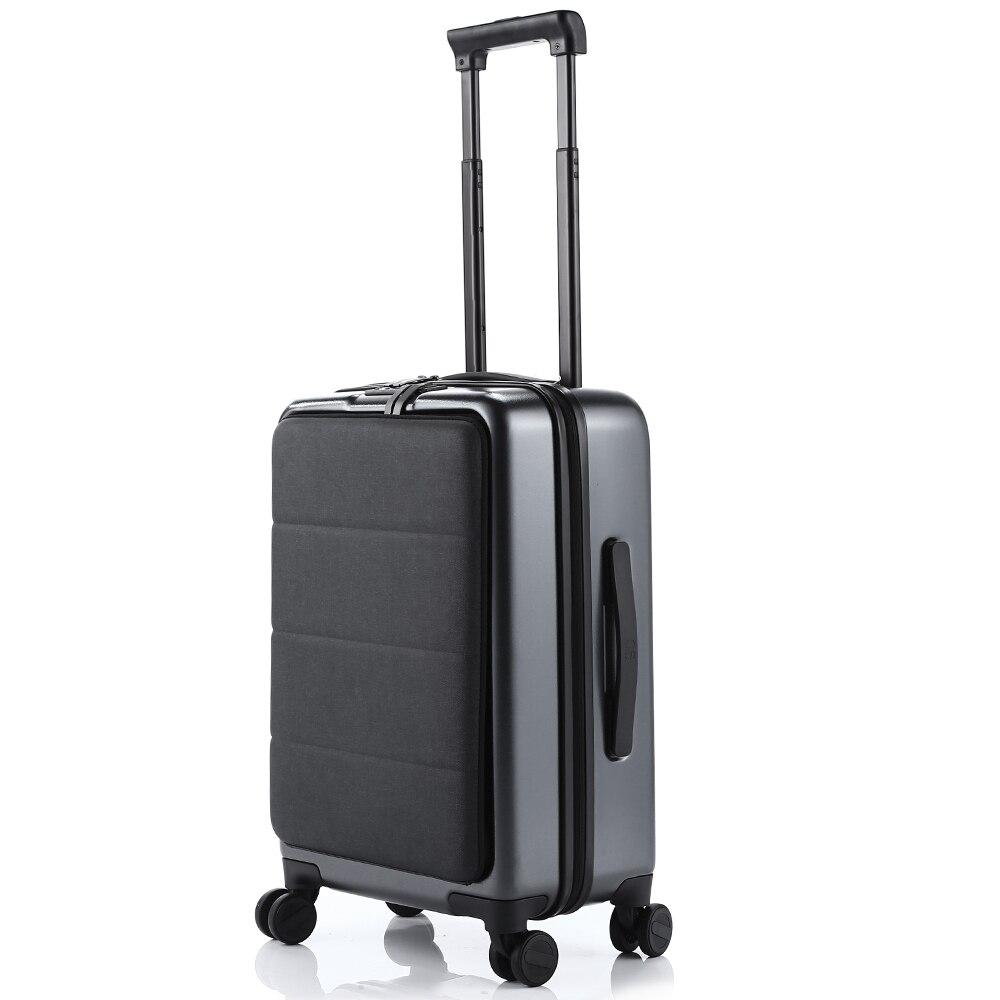 Xiaomi negocio 20 pulgadas abriendo maleta de viaje con Universal de cero-ajustable de la manija equipaje - 3
