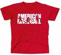 2018 جديد الرجال قميص فضفاض الملابس الأمريكية baseballer المراهقة قميص الرجال جودة عالية المحملات قصيرة الأكمام o