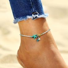 imixlot 2019 Summer Beach Anklets Bohemian Conch Imitation Pearls Anklets/bracelets Women Fashion Jewelry Starfish